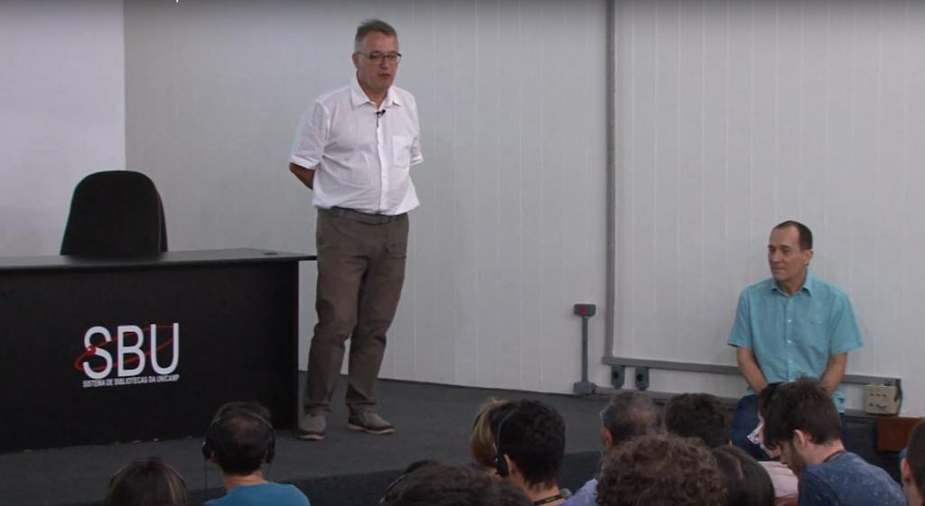 "l premio Asimov sbarca in Brasile. Francesco Vissani presenta il premio Asimov all'istituto ""Estudos Avançados (IdEA) da Unicamp"""